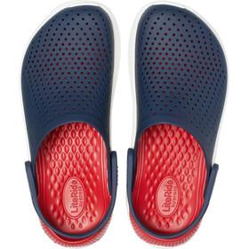 Crocs LiteRide Clogs, navy/pepper